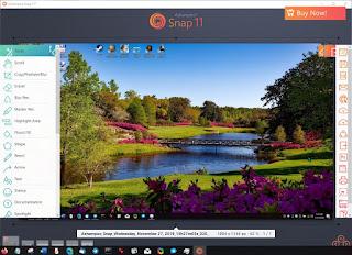 تحميل برنامج تصوير الشاشة وعمل الشروحات Ashampoo Snap 2020