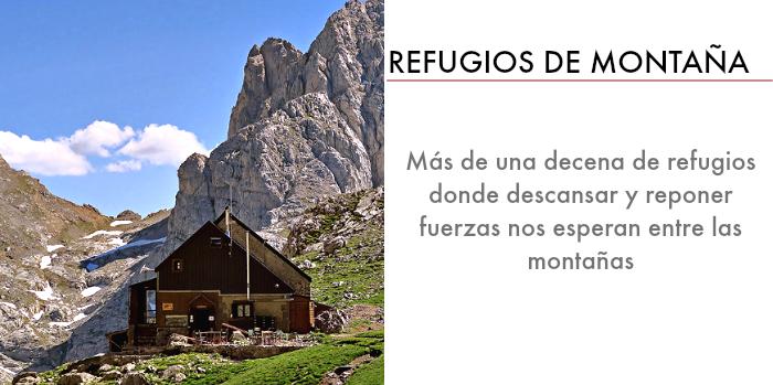 todos los refugios de montana que hay en asturias