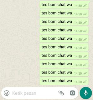Cara Kirim Boom Chat (Spam) WhatsApp