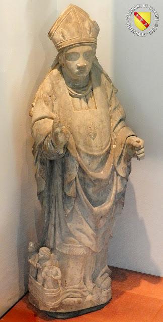 Saint-Nicolas (XVe siècle) - Musée d'Epinal (88)  Provient de l'église de Gircourt