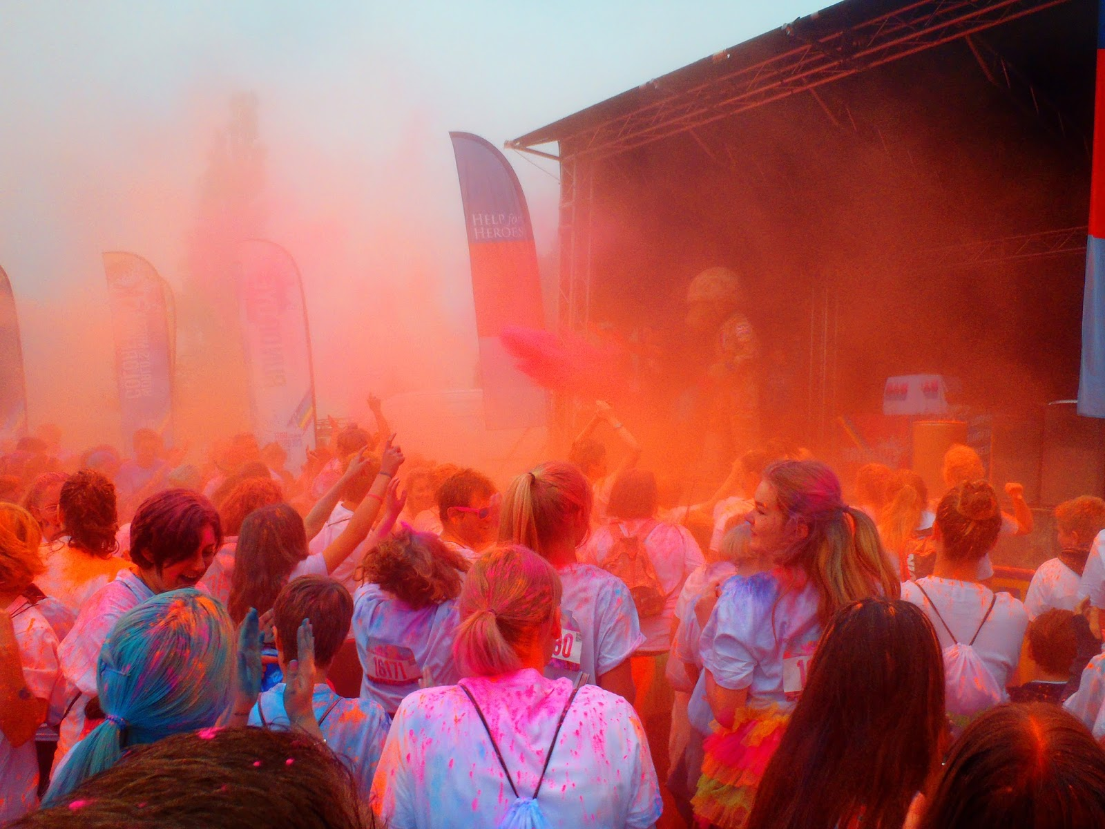 Run or Dye at Hever Castle