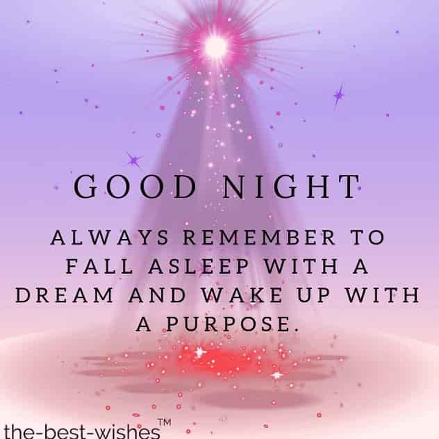 good night status for whatsapp facebook