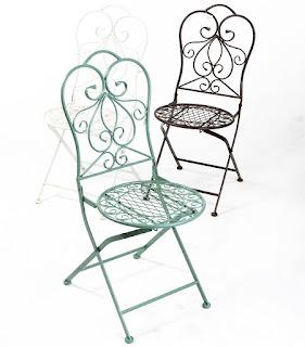 הגלריה המקסיקנית המקום לעיצוב הבית - כיסא ממתכת