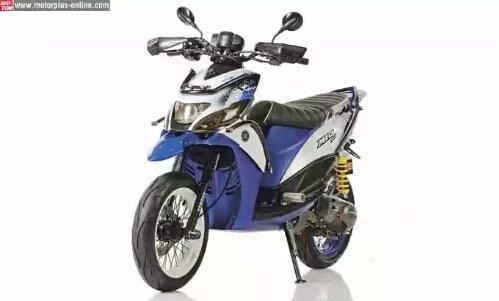 Bousque Modifikasi Matic Yamaha Mio Ala Supermoto Adventure Turinger
