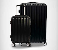 Alfamind Suitcase Trully Sharp Luggage Silvarrie 20in ANDHIMIND