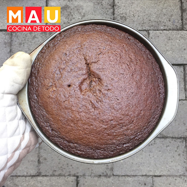 pastel de chocolate matilda