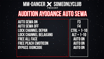 Cheat Ayodance Auto Sewa 6171