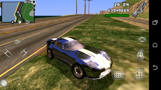 GTA V Bravado Banshee Only dff no txd for Android - GTA