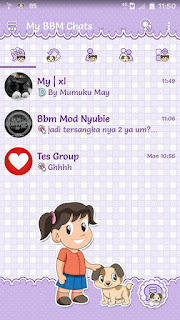 BBM MOD Purple Editon by MumukuMay Versi Terbaru v3.1.0.13 APK