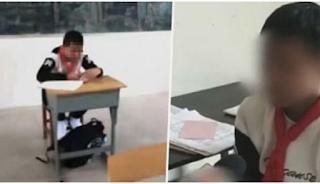 Δάσκαλος έβαλε παιδί με καρκίνο να κάθεται μόνο του στην τάξη επειδή νόμιζε πως η ασθένειά του είναι «κολλητική»