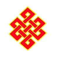 Nudo místico, sin fin, eterno, feng shui