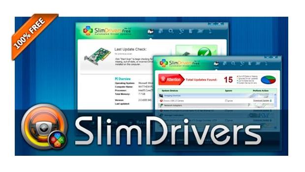 تحميل برنامج البحث عن تعريفات الكمبيوتر 2015 SlimDrivers
