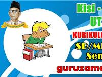 (Lengkap) Kisi - Kisi dan Contoh Soal UTS Tematik SD/MI Kelas 1 , 2 , 3 , 4 , 5 dan 6 Kurikulum 2006 (KTSP) Semester 2 ( Semua Pelajaran)