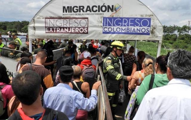 Ya hay más de 1 millón de venezolanos refugiados en Colombia