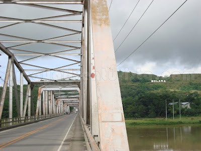 image of the Buntun Bridge in Cagayan province in Northern Philippines
