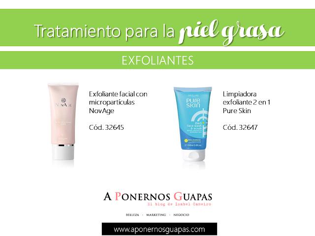 Tratamiento para la piel grasa Exfoliantes Oriflame A Ponernos Guapas
