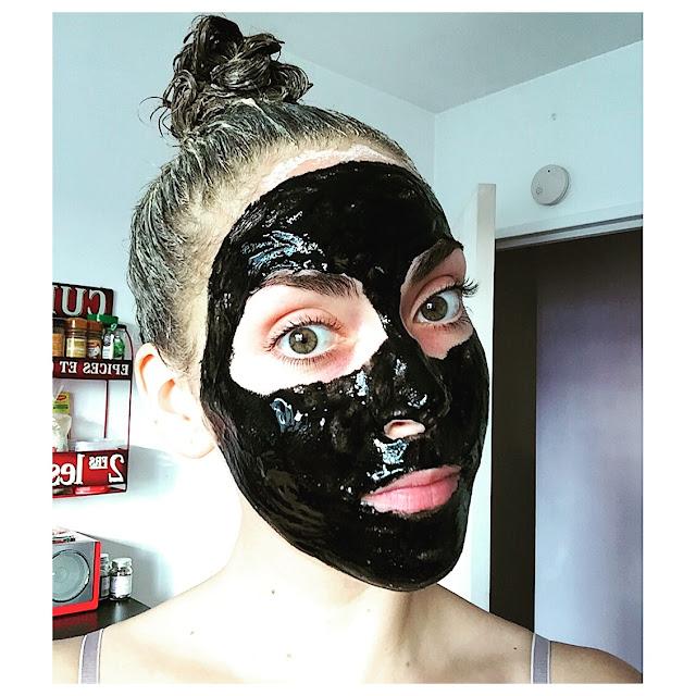 masque - détox  - charbon - naturel - détoxifiant