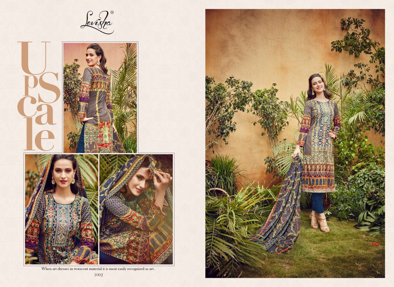 Nafeesa Vol-2-Stylish Lawn Cotton Digital Print Embroidery Dress Material