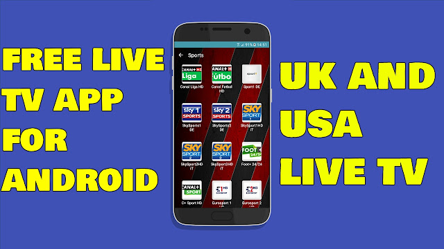 Best Live Tv App For Android October 2017 - New Free Live Tv App For Android October 2017 - AY4TECH