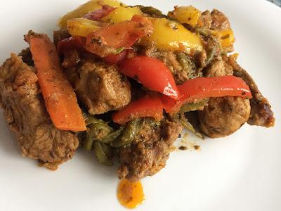 Mięso z warzywami