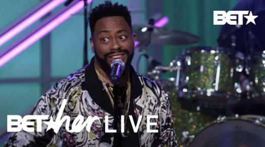 Raheem DeVaughn Serenades Crowd With His New Single 'Just Right' At BET Her Live!