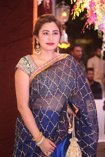 Jwala Gutta Stills At Sania Mirza Sister Marriage