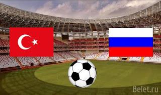 Россия – Турция прямая трансляция онлайн 14/10 в 19:00 МСК.