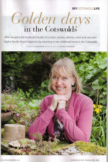 Sophie Neville in Cotswold Life