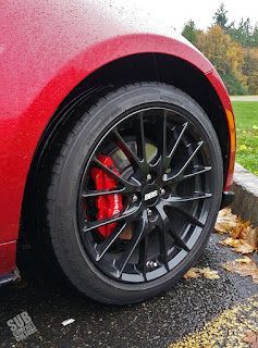 Forged BBS wheels and Brembo brakes