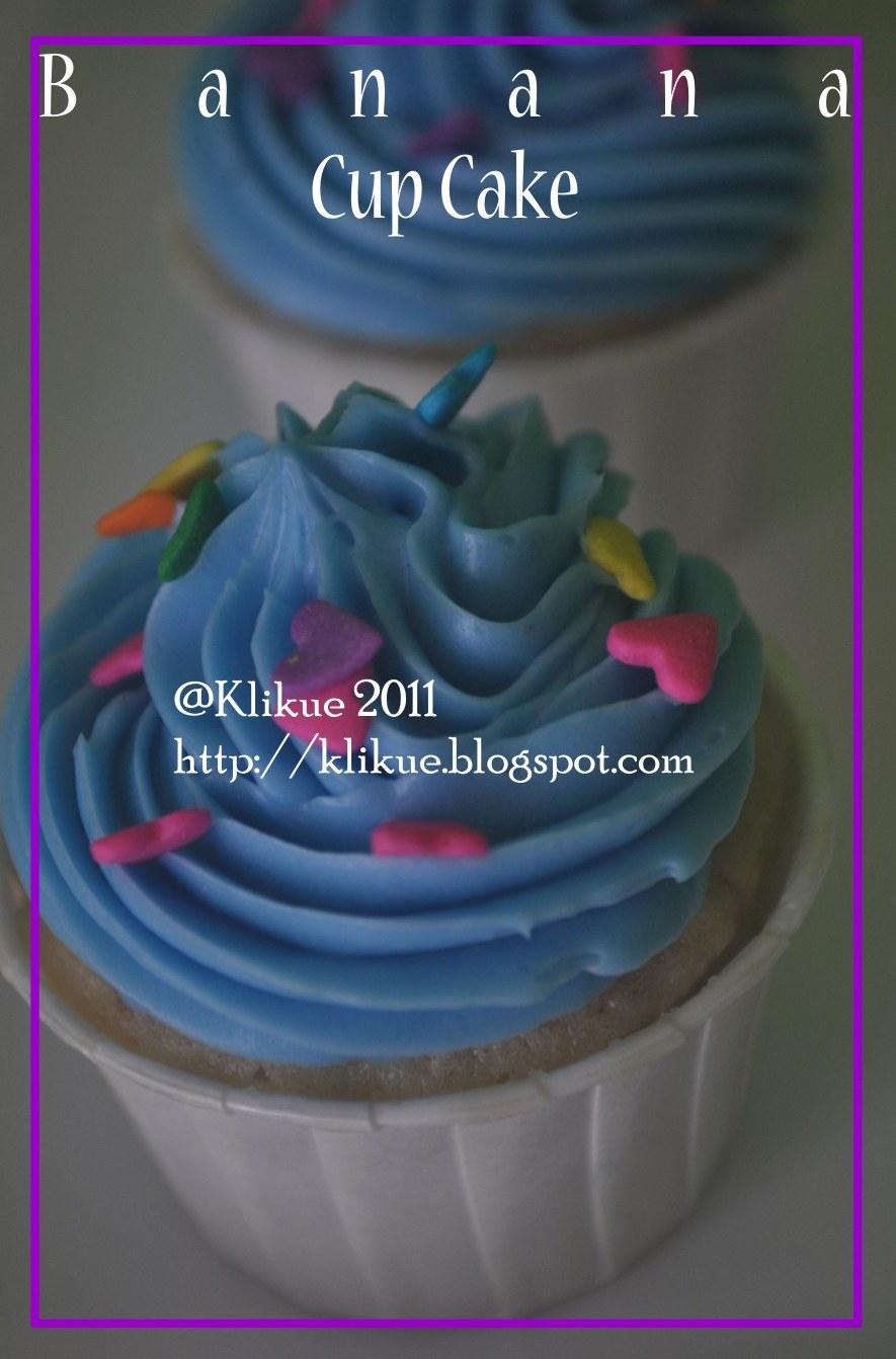 Klikue Balikpapan Cakes And Puddings Online Shop Banana Cup Cake