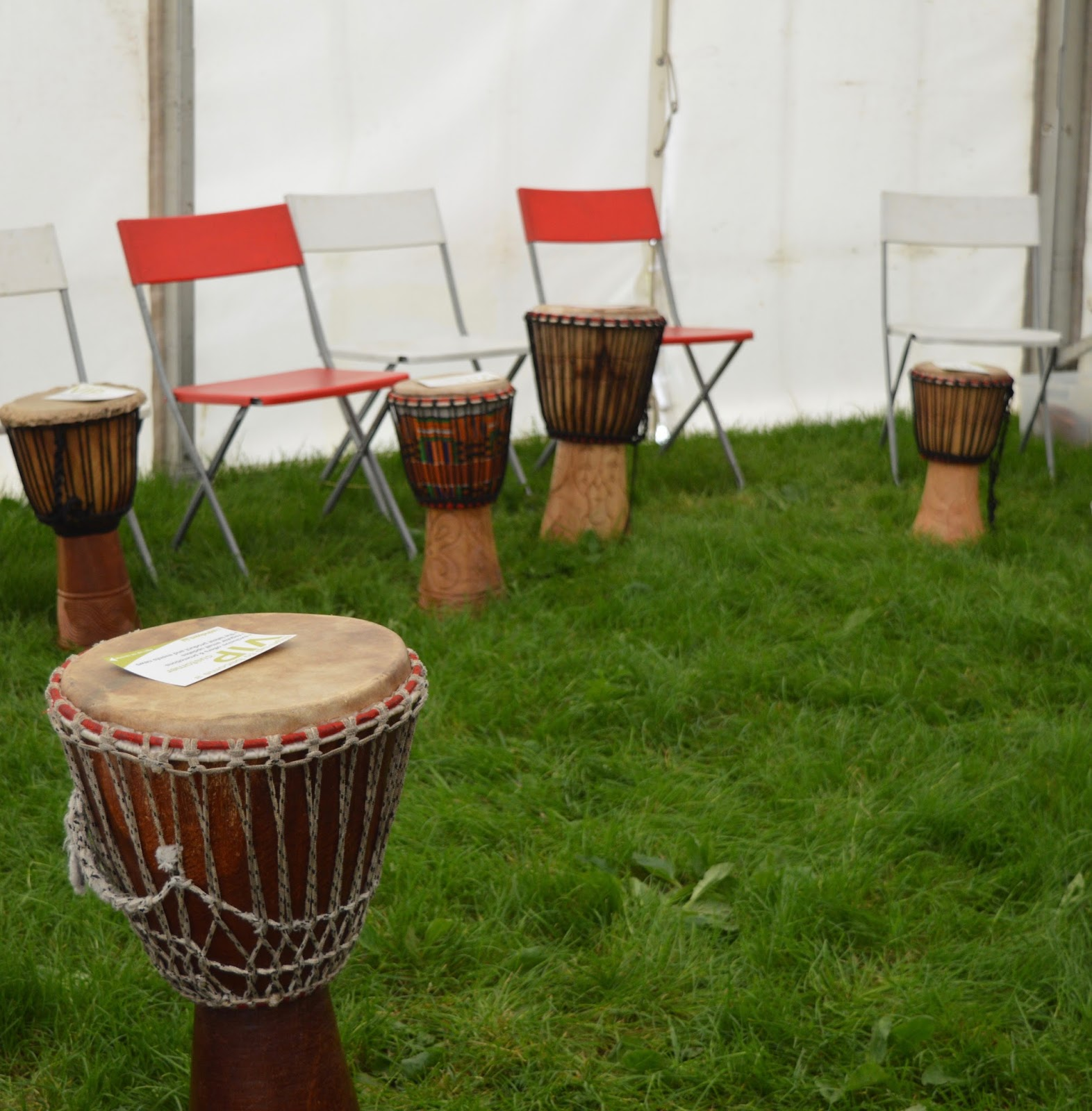 Corbridge Festival 2016 - A Review - Drum workshop
