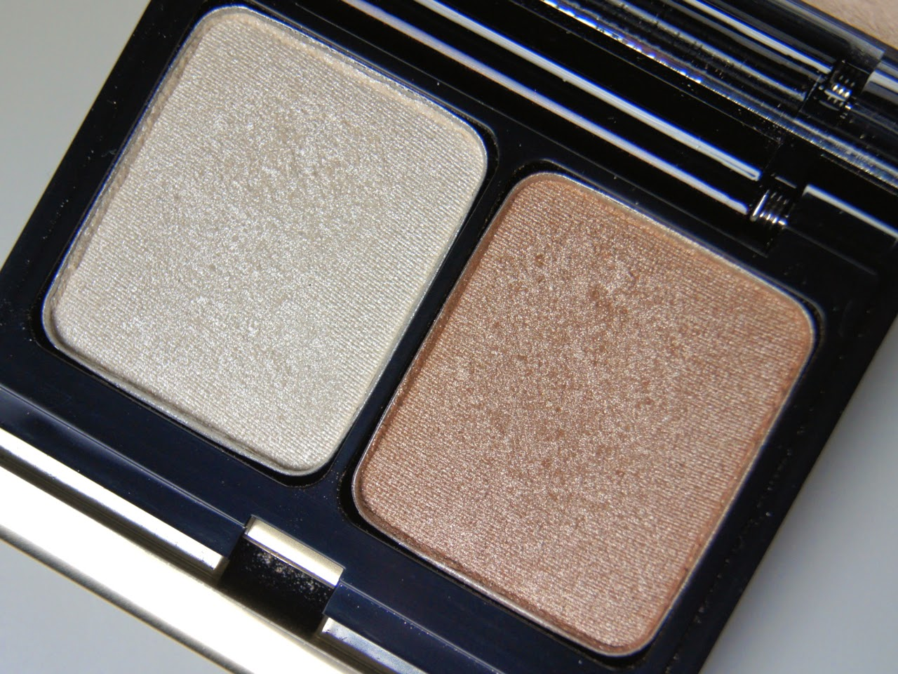 kevyn aucoin eyeshadow duo #202 swatches review