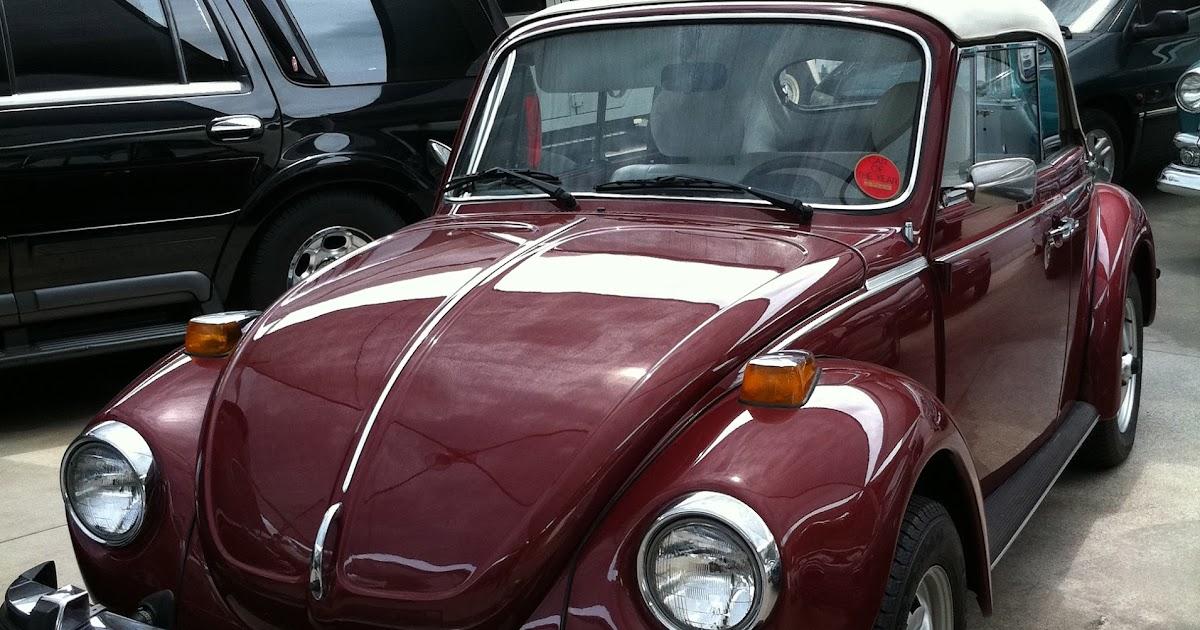 Meu Véio V8: VW Fusca conversível