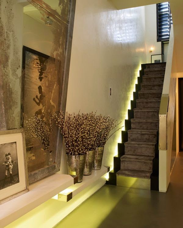 Stairs Beleuchtugn Led Lighting Modern Stairs Construction