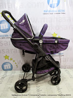 Kereta Bayi Lightweight Pliko PK798AL Baby2Go Hadap Depan atau Belakang
