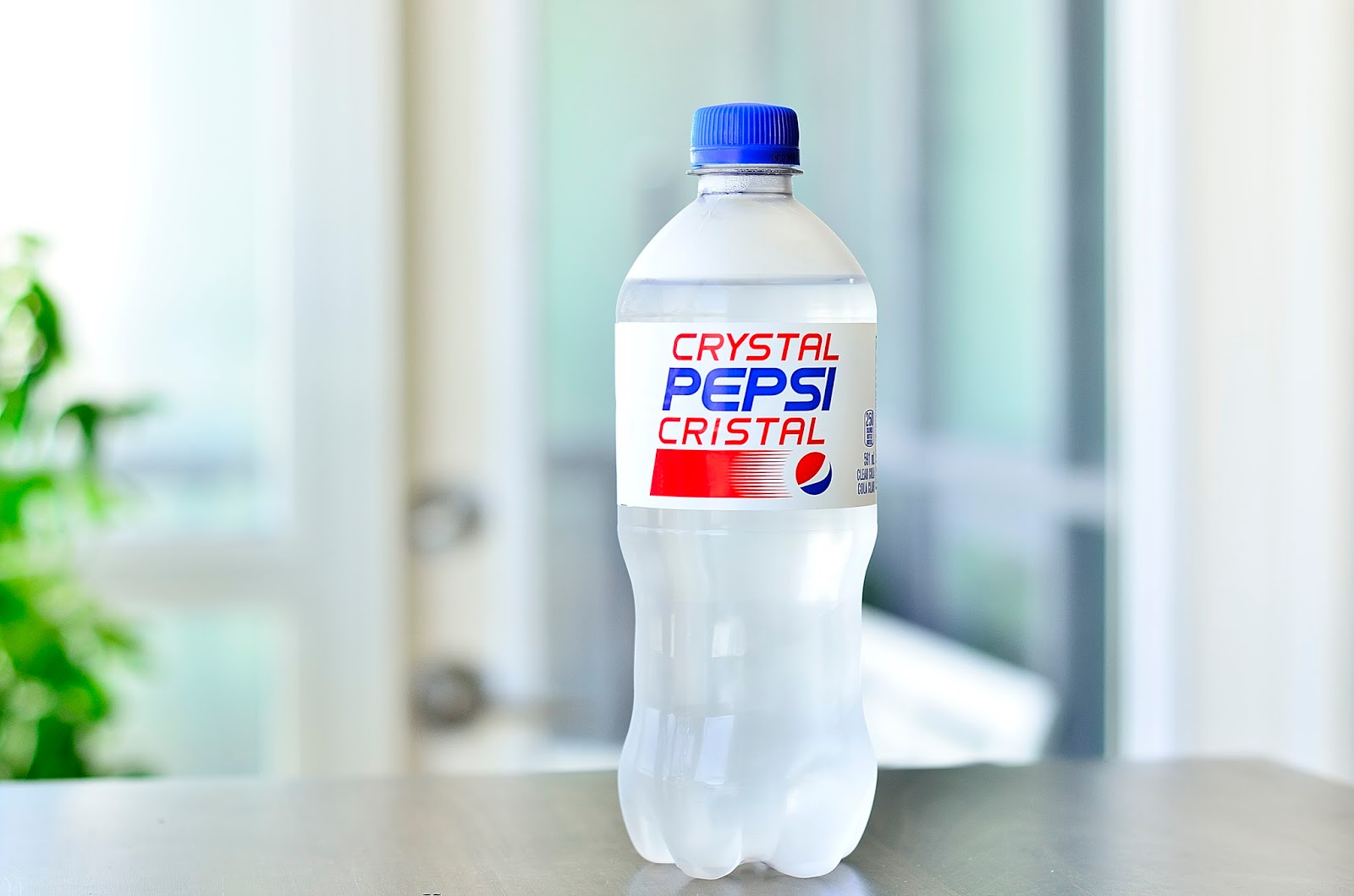failed product crystal pepsi