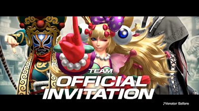 Official Invitation Team per The King Of Fighters XIV