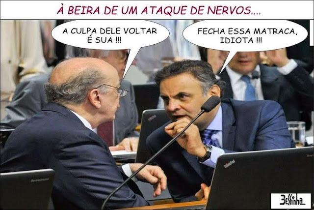 Lula é líder das pesquisas com 34% bem a frente de Serra (E) e Aécio