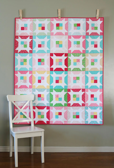 Little Miss quilt pattern from A Bright Corner