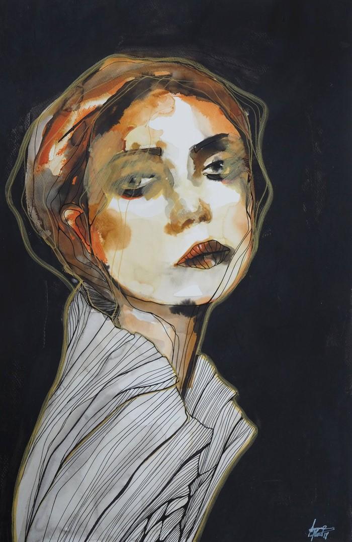 Эмоциональные портреты. Anna Matykiewicz