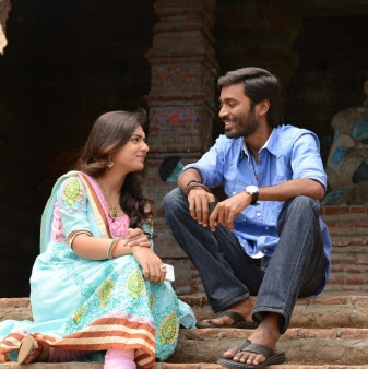Nazriya Nazim hot pics photos in Naiyandi Tamil movie with Dhanush