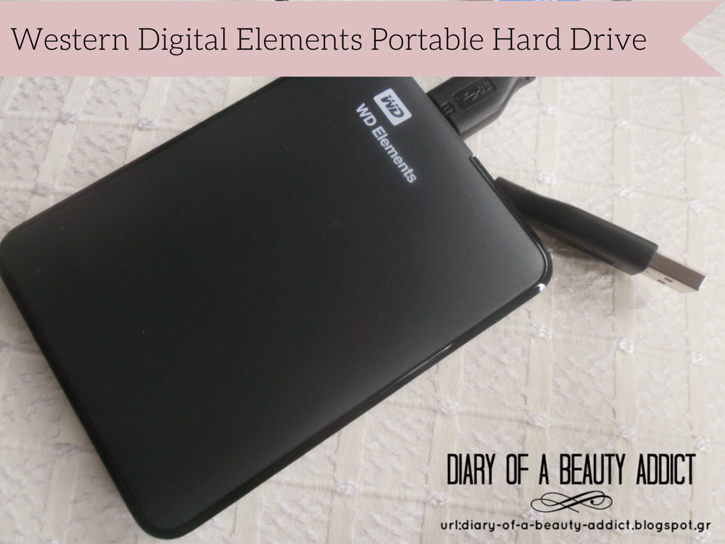 Western Digital Elements Portable Hard Drive