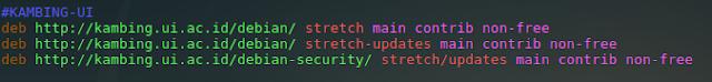 """Repositori Lokal Debian 9 """"stretch"""""""