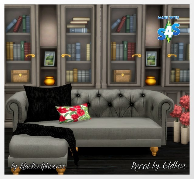 My Sims 4 Blog Life In A Forest Sofa Recolors By Oldbox