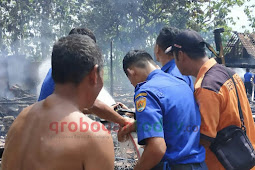 Si Jago Merah Mengamuk,  Dua Rumah dan Tiga Motor Ludes Terbakar