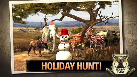 تحميل لعبة صيد الغزلان للأندرويد والايفون والايباد والايبود تاتش مجاناً DEER HUNTER 2014 iOS-APK