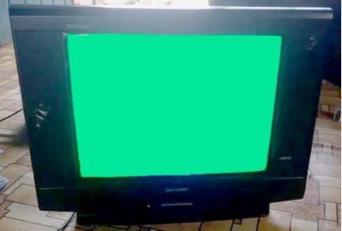 Cara Memperbaiki Warna TV Dominan Hijau