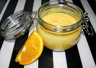 krem pomarańczowy