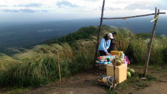 women selling snacks in mt talamitam