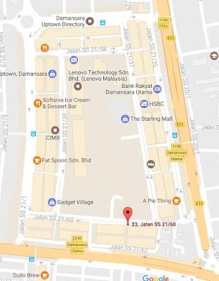 location map gangnam opp bbq korean restaurant